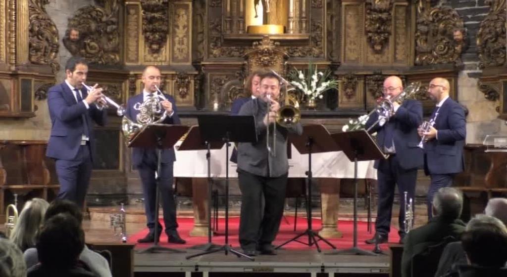 Barroko Aire - Spanish Brass eta Alberto Urretxo