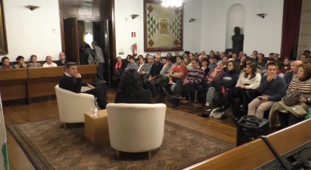 """Otegi: """"Madrilek estatus politiko berriari ezetz esango  balio hona itzuli eta guztion artean erantzun behar zaio"""""""