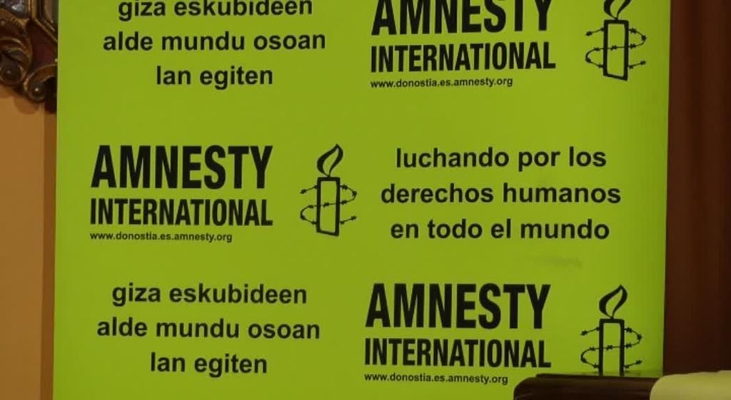 Amnistia Internacional-ek hitzaldia eskaini du Ordizian