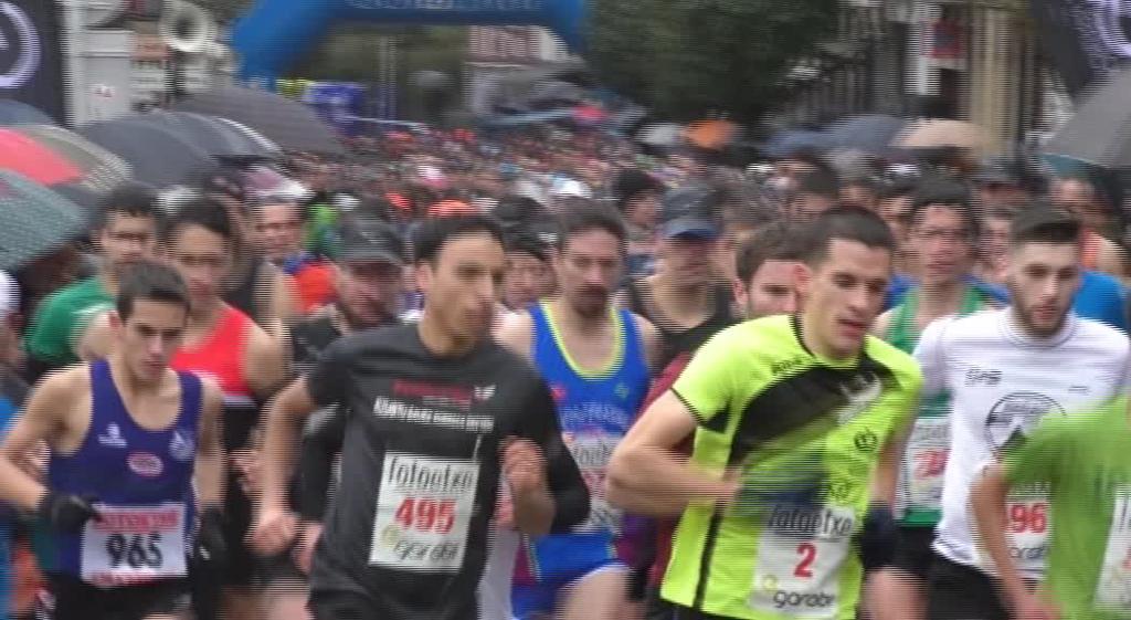 Marc Hurtado eta Izaro Rubio garaile Idiazabalen