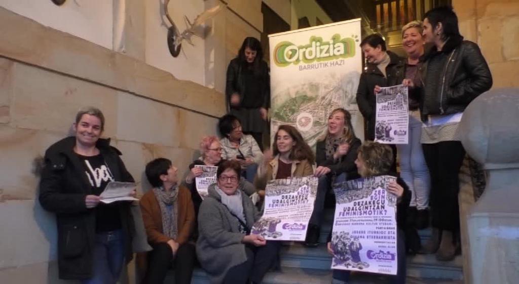 Josebe Iturrioz eta Oihana Etxebarrietak feminismo eta udalgintzari buruzko hitzaldia eskainiko dute