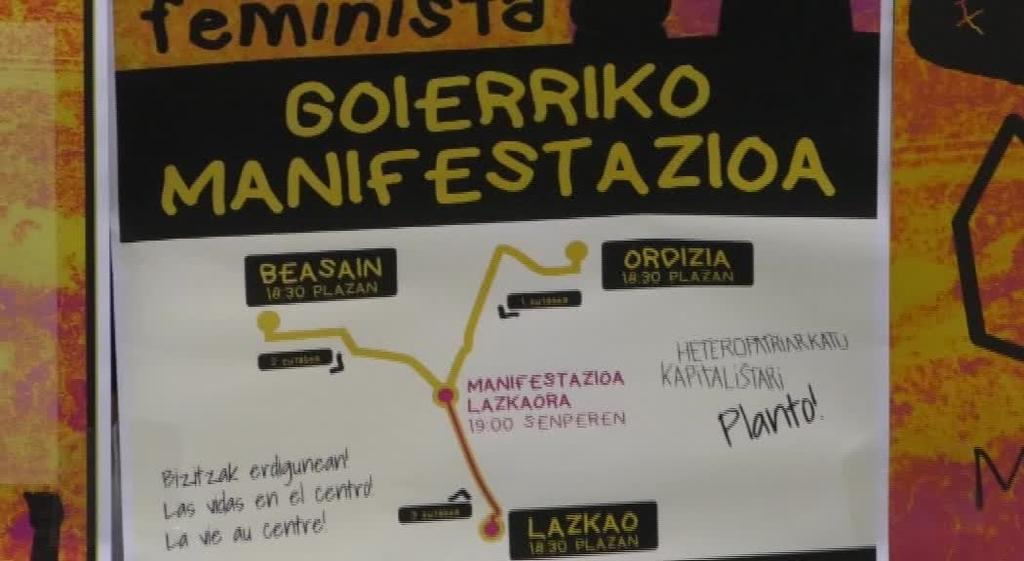 Eskualde mailako manifestazioa hartuko du Lazkaok M8an