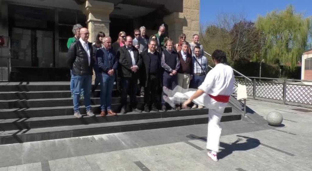 'Europako Gazten Ibilbidea'-ren topaketa Idiazabalen