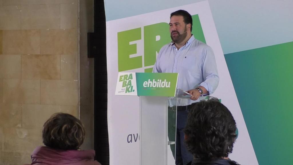 EH Bilduk euskal gizartearen bozgarailua izan nahi du Madrilen