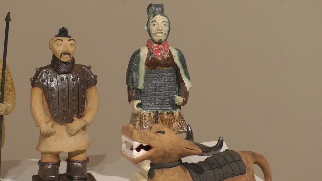 'Ekialdeko aztarnak' erakusketa ikusgai