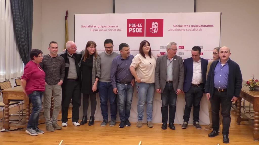 %60an berritu du PSE-EEk Udal Hauteskundeetarako hautagaitza