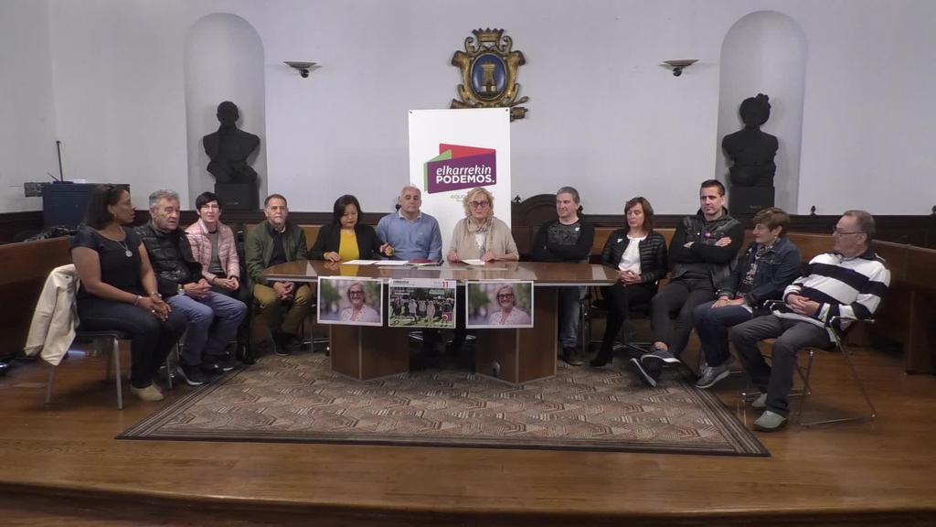 """Elkarrekin Podemos - Ordizia Orain: """"Gure hautagaitza Ordiziaren argazkia da"""""""