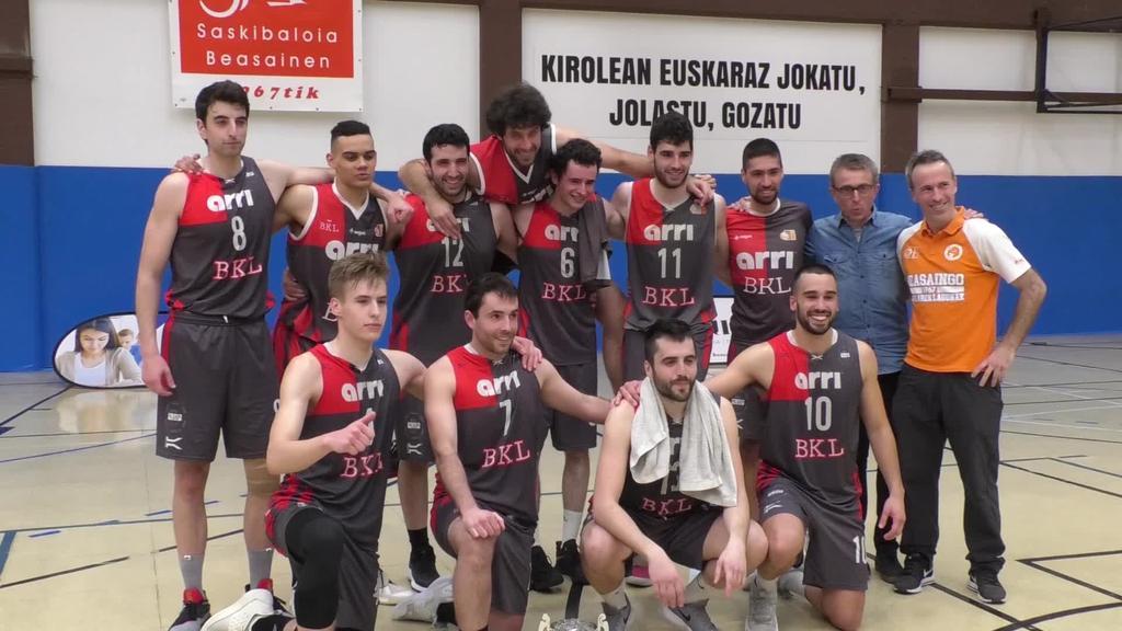 Arri BKL taldeak 87-58 irabazi zuen denboraldiko azken partida