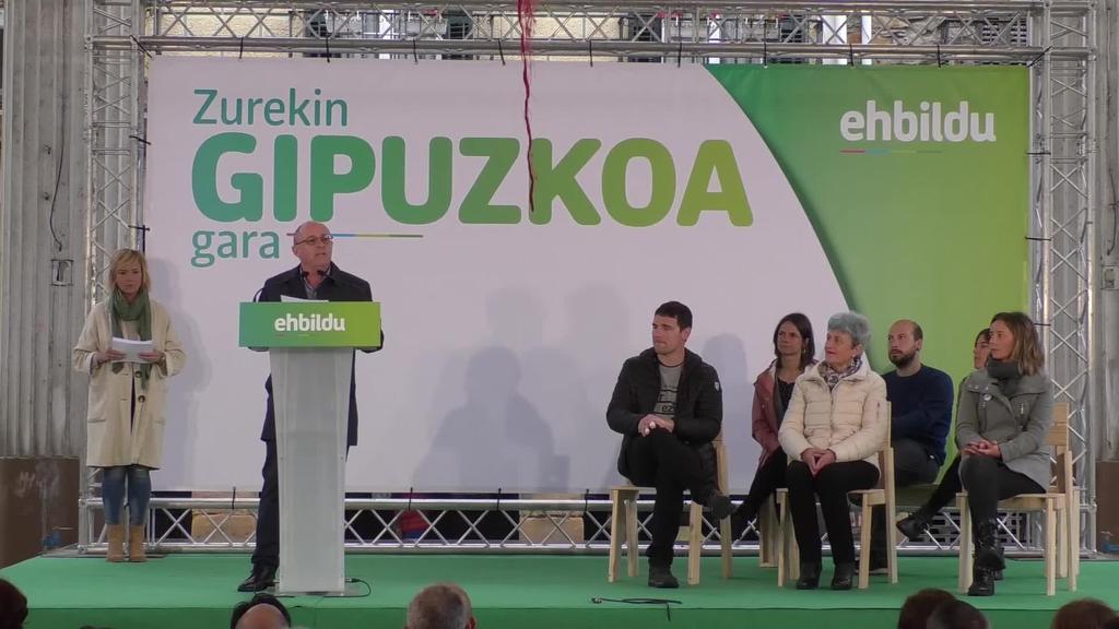 """Juan Karlos Izagirre: """"40 milioi euro bideratuko ditugu eskualdeetarako"""""""