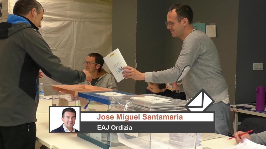 Ordiziako EAJko Jose Miguel Santamariaren iritzia Udal Hauteskundeen inguruan