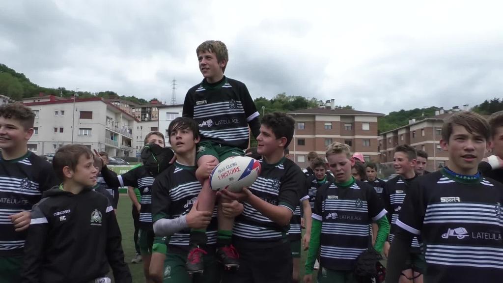 Pont Long garaile Haur Rugby Txapelketan