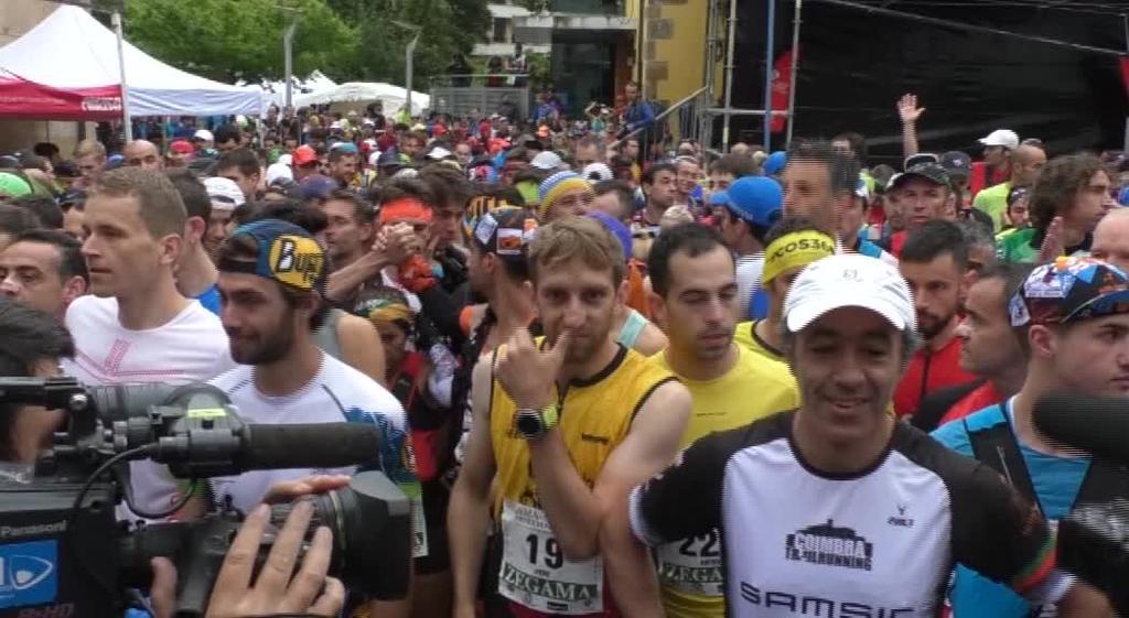 Zegama Aizkorri mendi maratoiaren prebioa