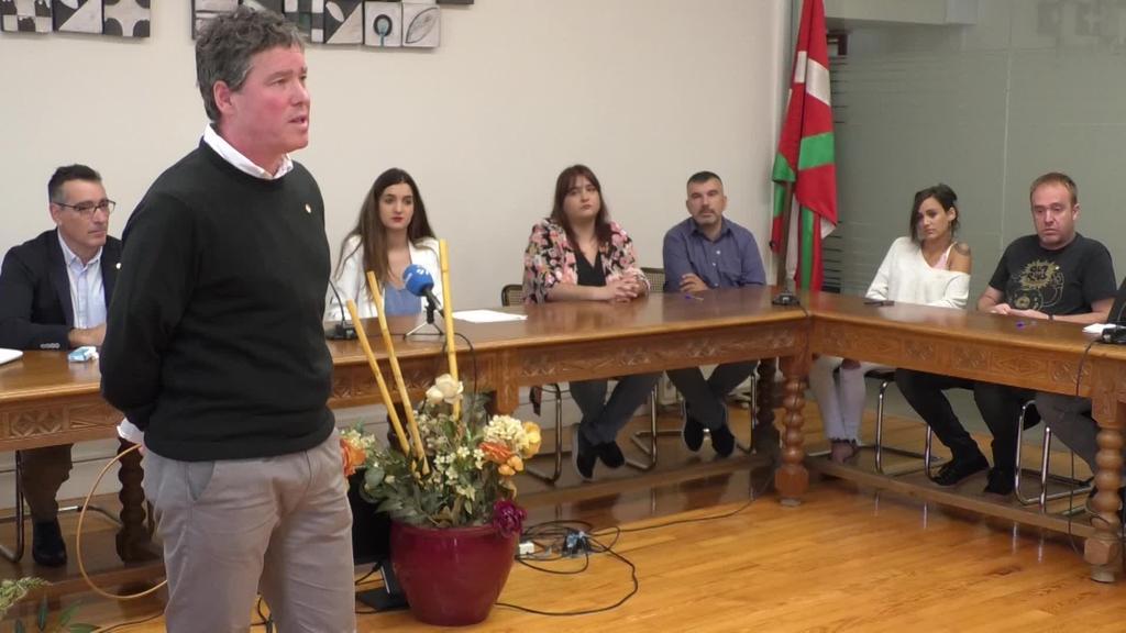 Aitor Aldasoro alkate izendatuta eratu da Beasaingo udal korporazio berria