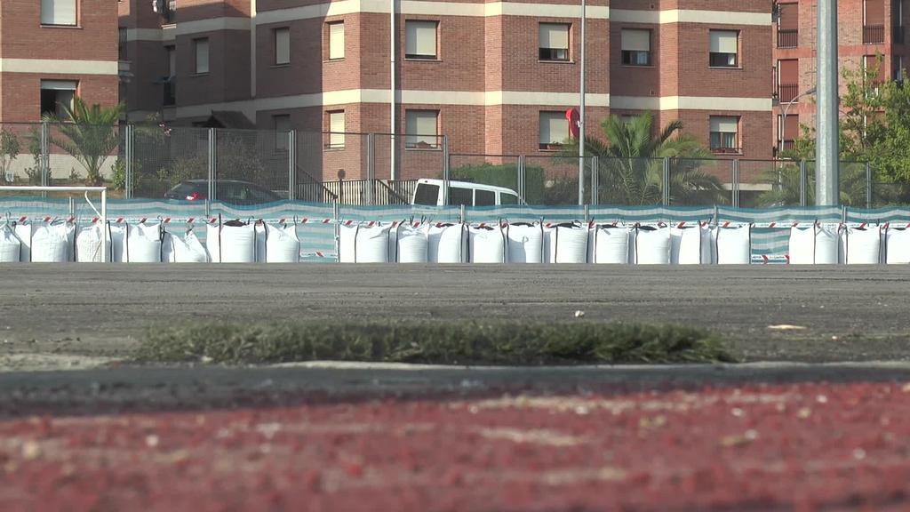 Altamira estadioko belarra aldatzeko lanak martxa onean