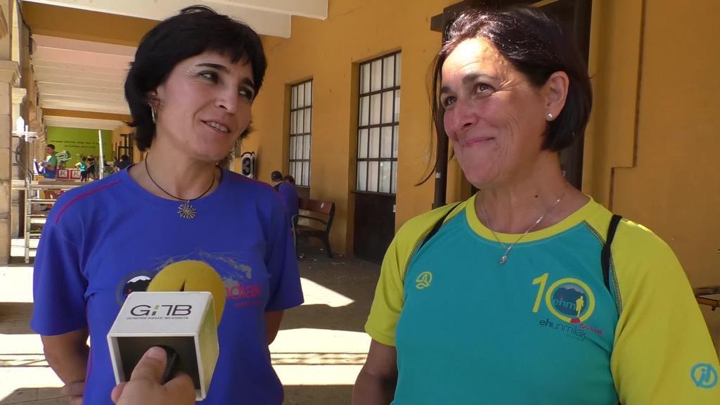 Giro ona eta lasterkarien jarrera azpimarratu dituzte boluntarioek