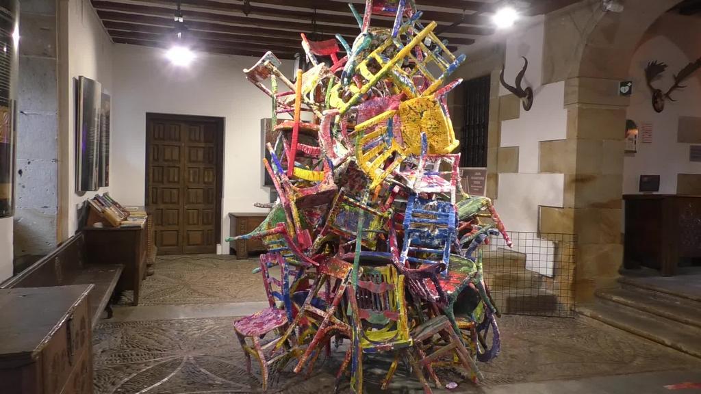 Josette Dacostaren erakusketa inauguratu berri da eta irailaren 27ra arte ikusgai egongo da Barrenan