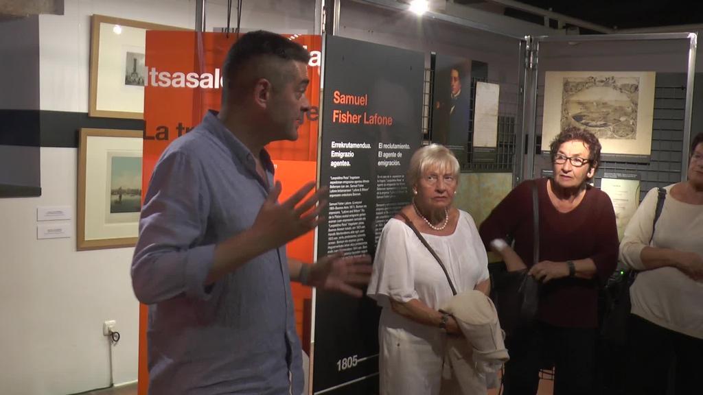 """Zumalakarregi Museoko """"Leopoldina Rosa: gaur egungo istorio bat"""" erakusketa aurkeztu dute"""