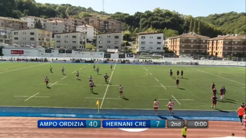Ampo Ordizia vs Hernani CRE 2. zatia