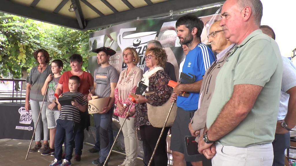 Kortaria gaztandegiak irabazi du Euskal Herriko Artzai Gazta txapelketa Idiazabalen