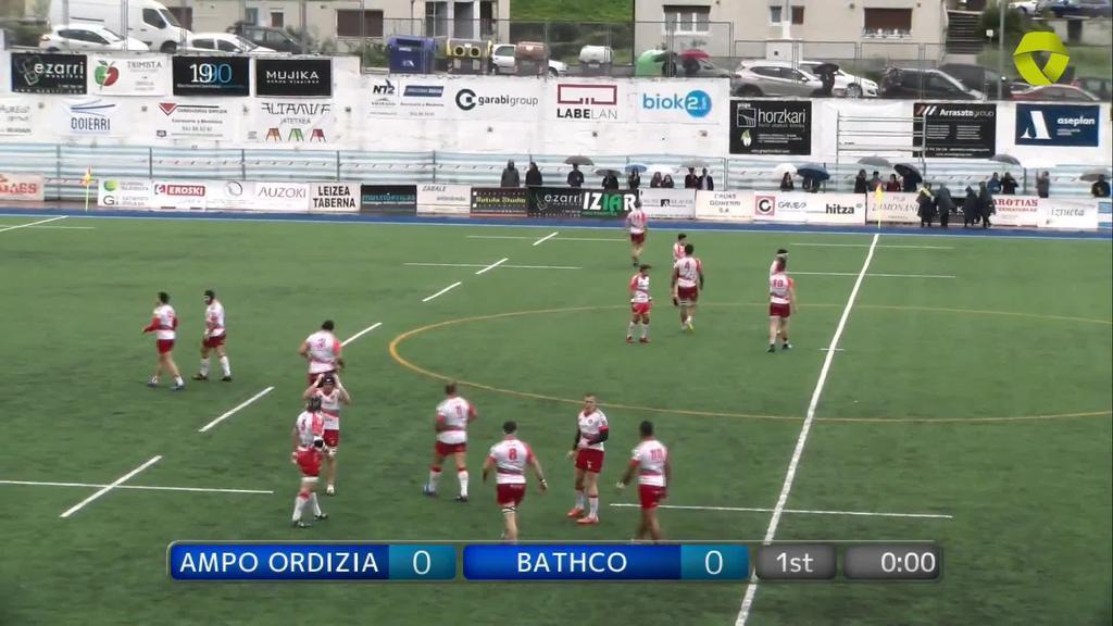 Ampo Ordizia vs Bathco 1. zatia