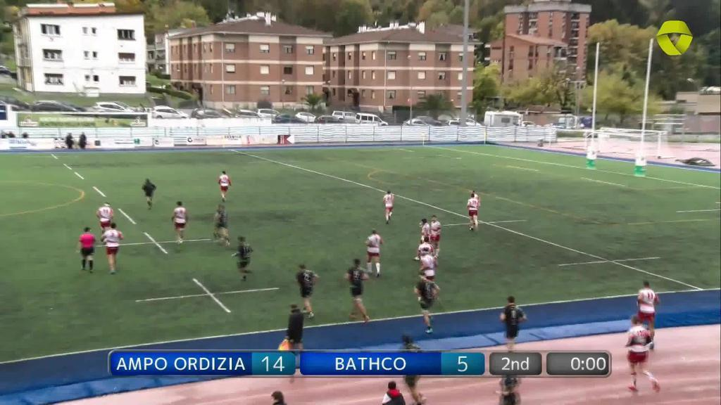 Ampo Ordizia vs Bathco 2. zatia