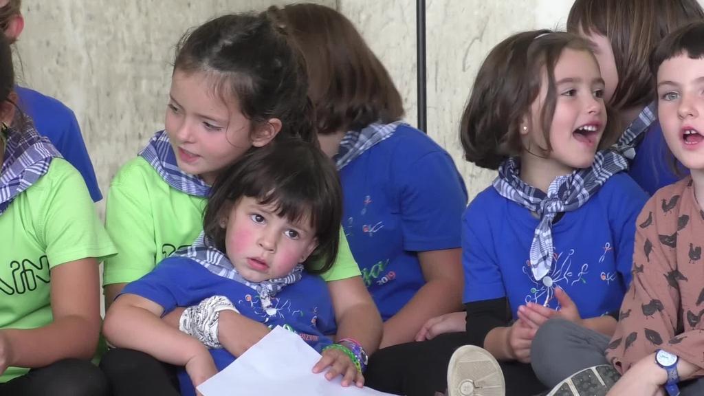 Goierriko Eskola Txikien Festa ospatu zuten Zerainen