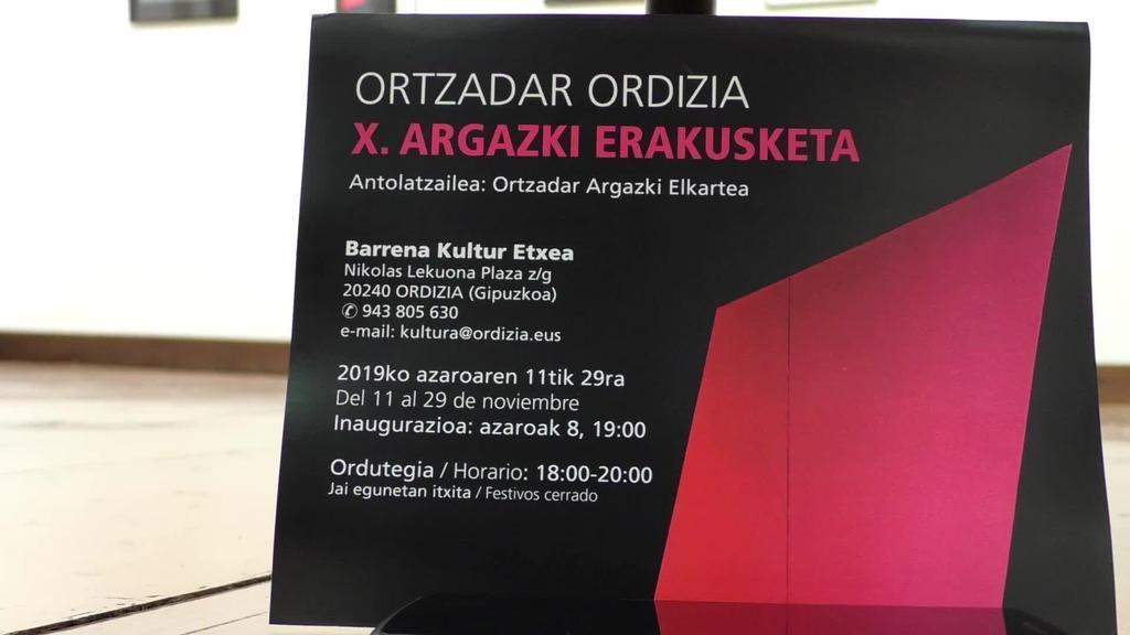 X. Argazki erakusketa estreinatu du Ortzadarrek Barrena kultur etxean