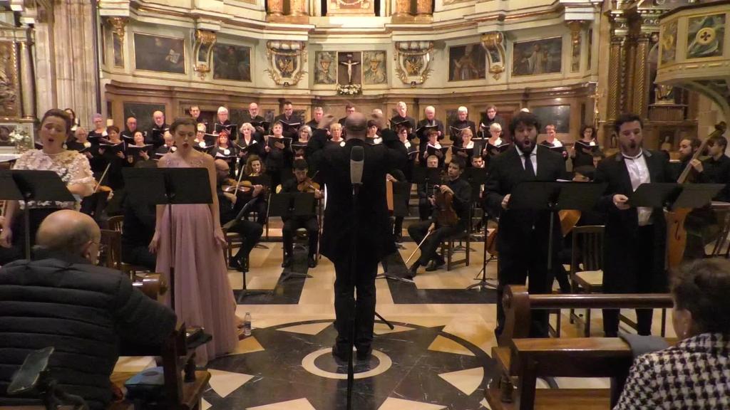 Kantaka Abesbatza - Mozarten Koroatze Meza