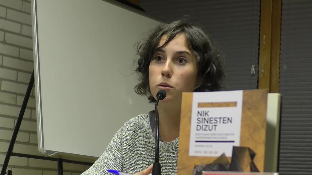 'Nik sinesten dizut' liburua aurkeztu zuen Legorretan Samara Velte egileak