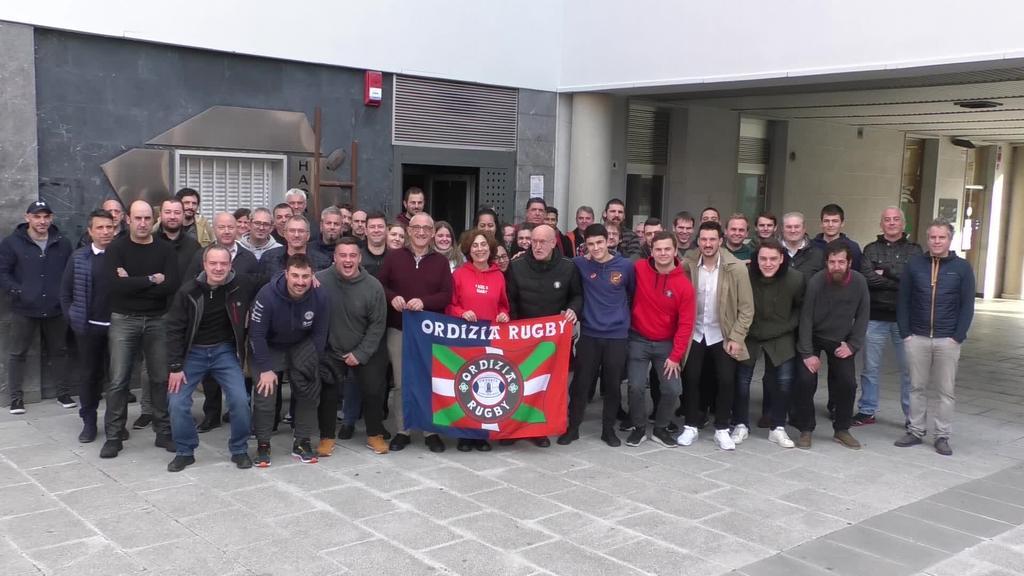 Ampo Ordizia Rugbyk zuzendaritza talde berria aurkeztu du