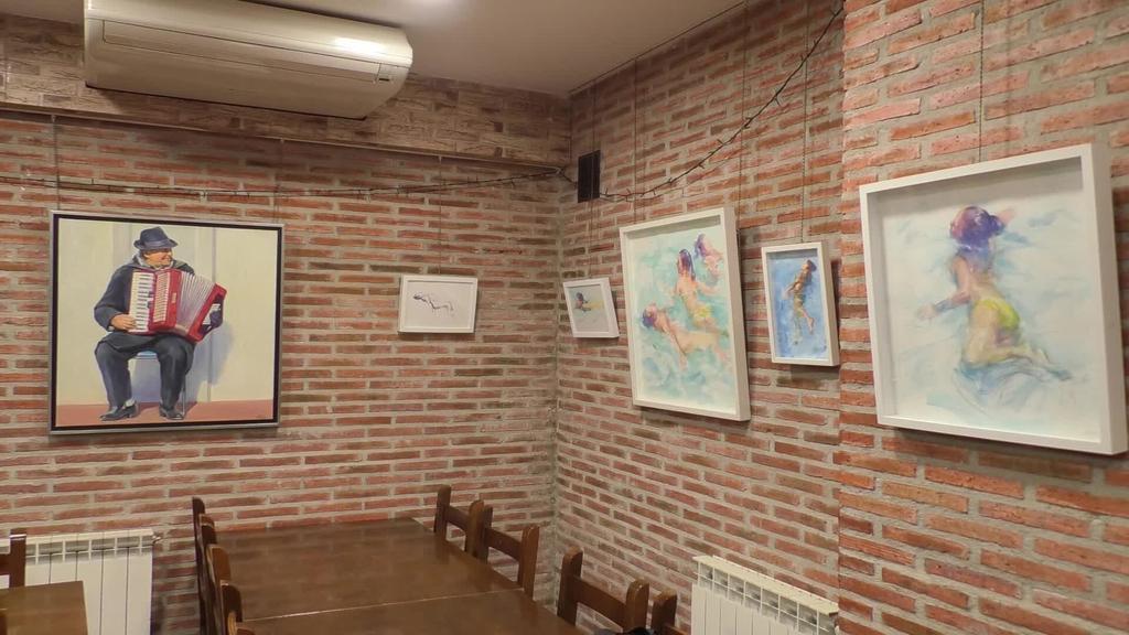 Jabi Soto artista ordiziarraren margolanak ikusgai daude Altarten