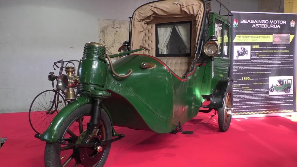 1895. urteko kotxe elektrikoa protagonista Beasaingo Motor Asteburuan