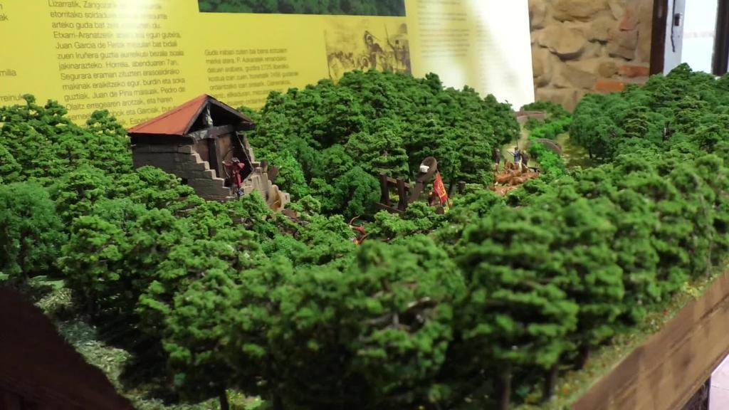 1331. urteko gatazka bat Erraztiolatzako azken maketan