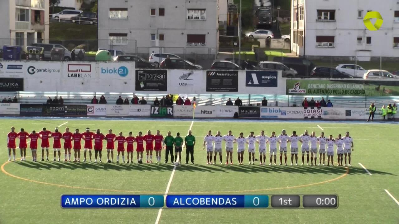 Ampo Ordizia vs Alcobendas