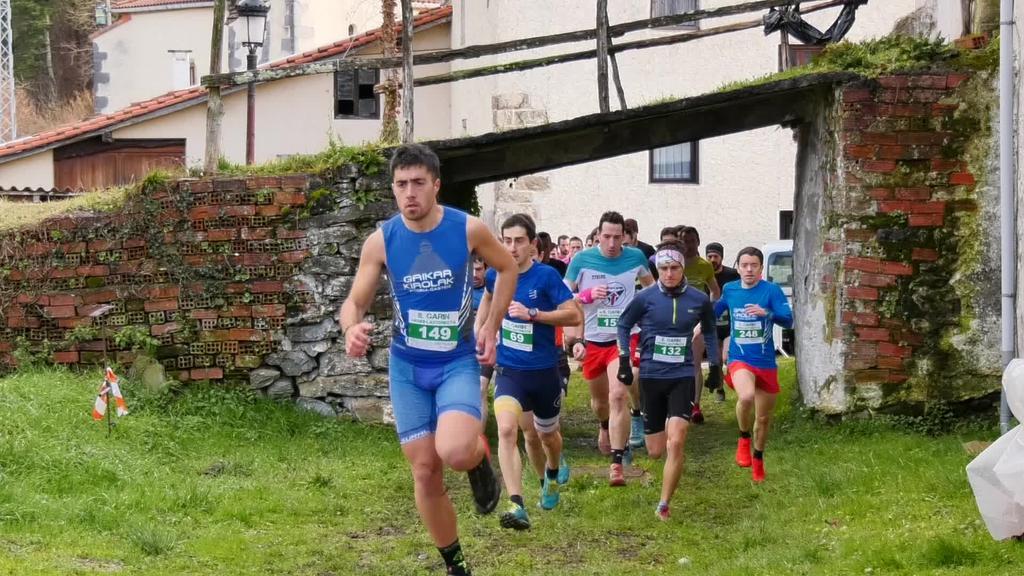 Iñaki Olanok eta Irati Larrañagak irabazi zuten Garingo Mendi lasterketa