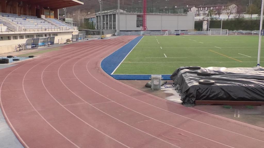 Altamirako atletismo pistaren berrikuntza lanak hasteko prest dira