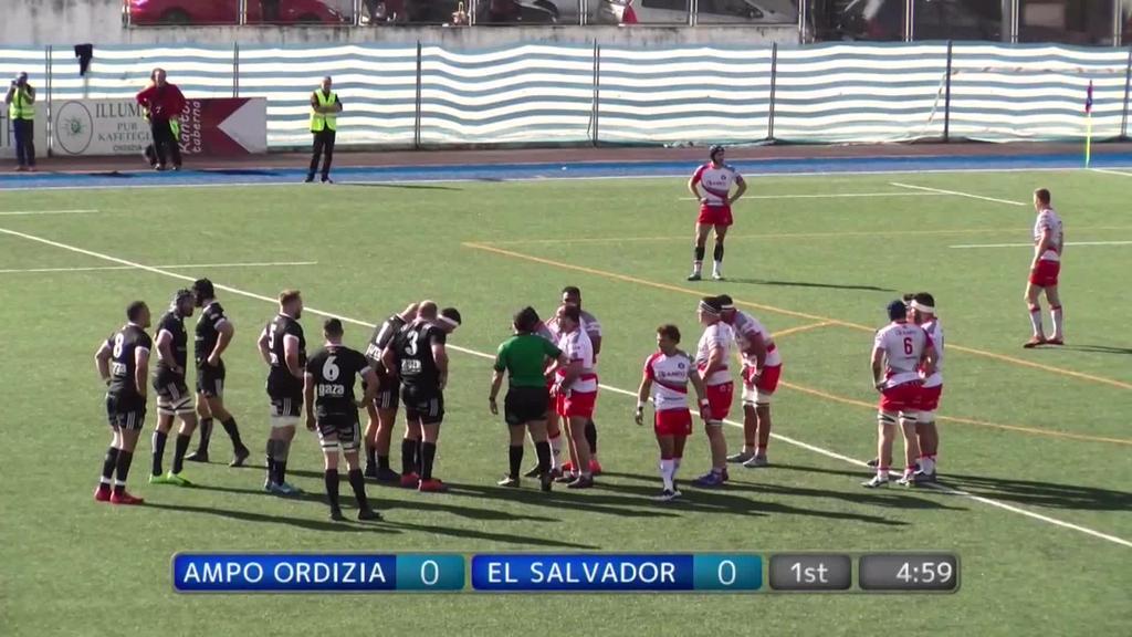 Ampo Ordizia vs El Salvador