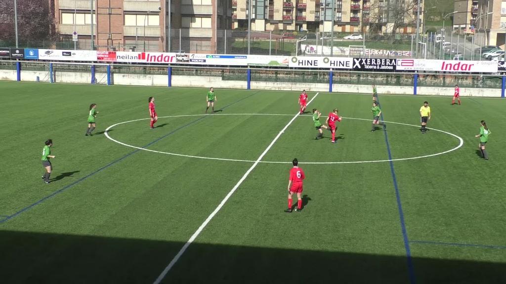 Merezitako garaipena lortu zuen Goierri Gorri taldeak Anaitasunaren aurka (3-1)