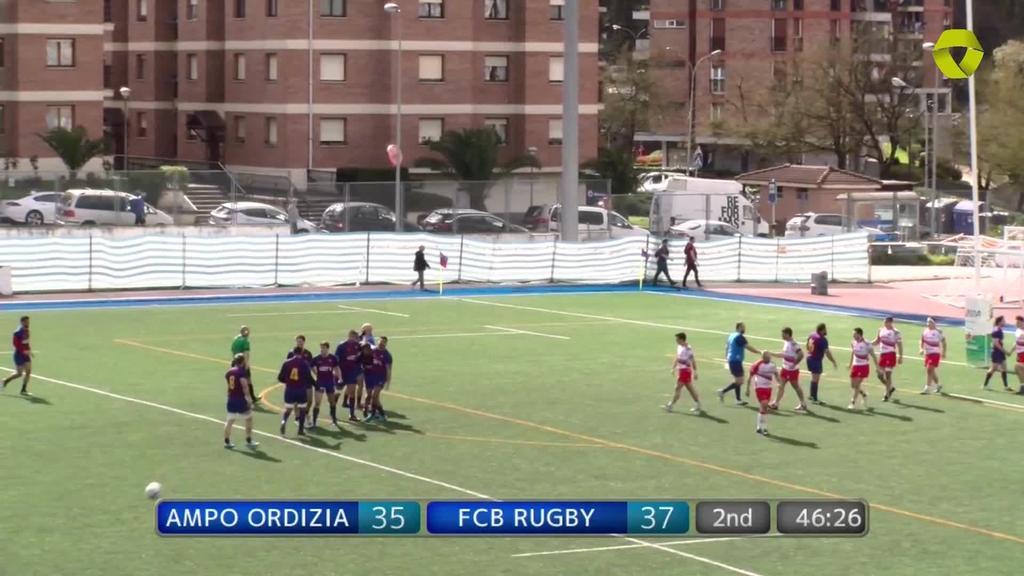 Ampo Ordizia vs. Barça Rugbi