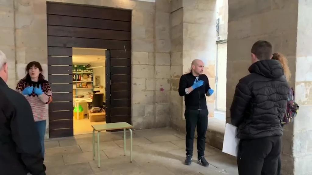 Udalak Ordiziako boluntario sareko kideei seguratsun kit-ak banatu dizkie