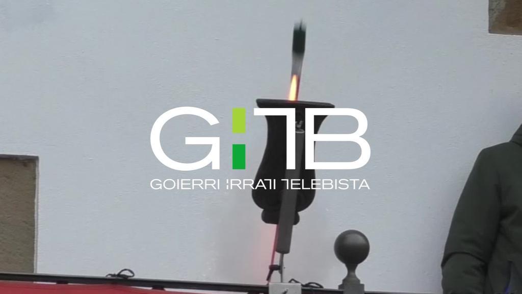 Lazkaoko txupinazoa zuzenean www.gitb.eus eta Goierri Telebistan