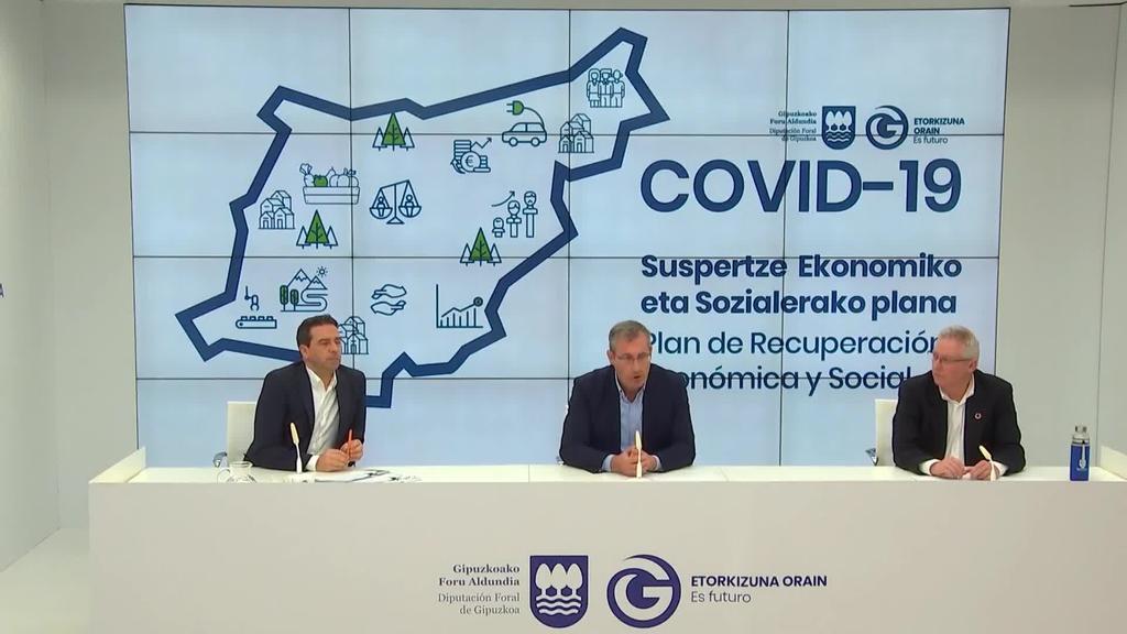 Sustapen ekonomikoaren partidari eustea lortu du Gipuzkoako Foru Aldundiak, 28 milioi euroko planarekin
