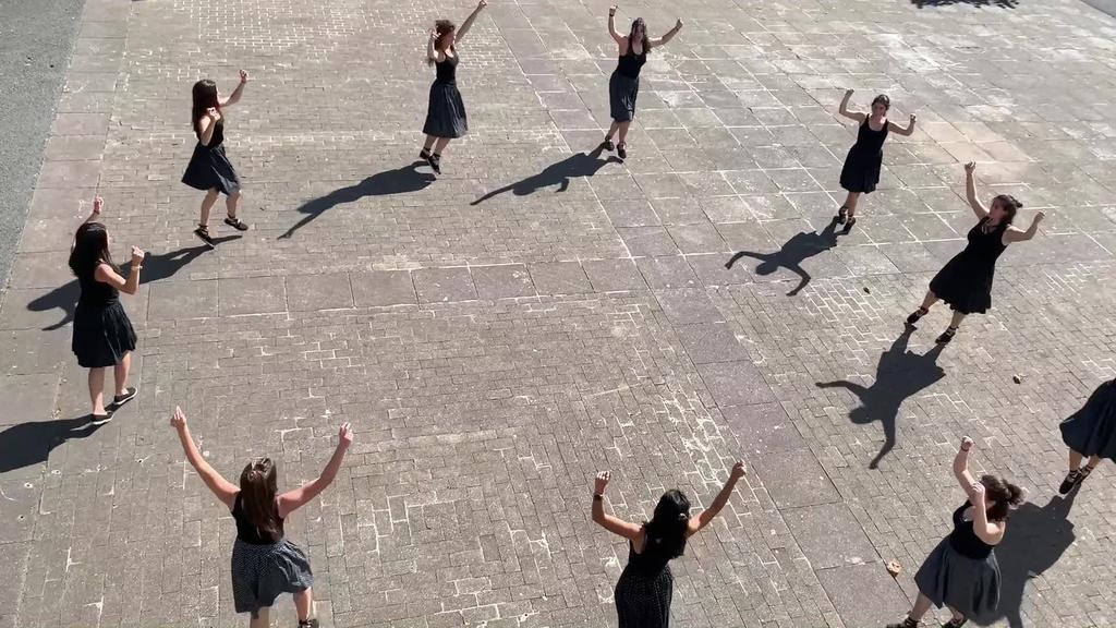 San Joan bezperako dantza Idiazabalen