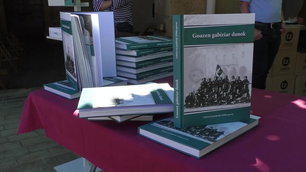 """""""Goazen gabiriar danok"""": 1936ko gerrako Gabiriako gudarien historia, liburu eta dokumental bihurtua"""