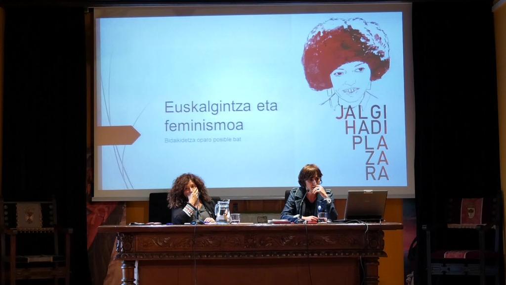 Euskalgintza eta feminismoaren lotura hizpide izan da Barrenan