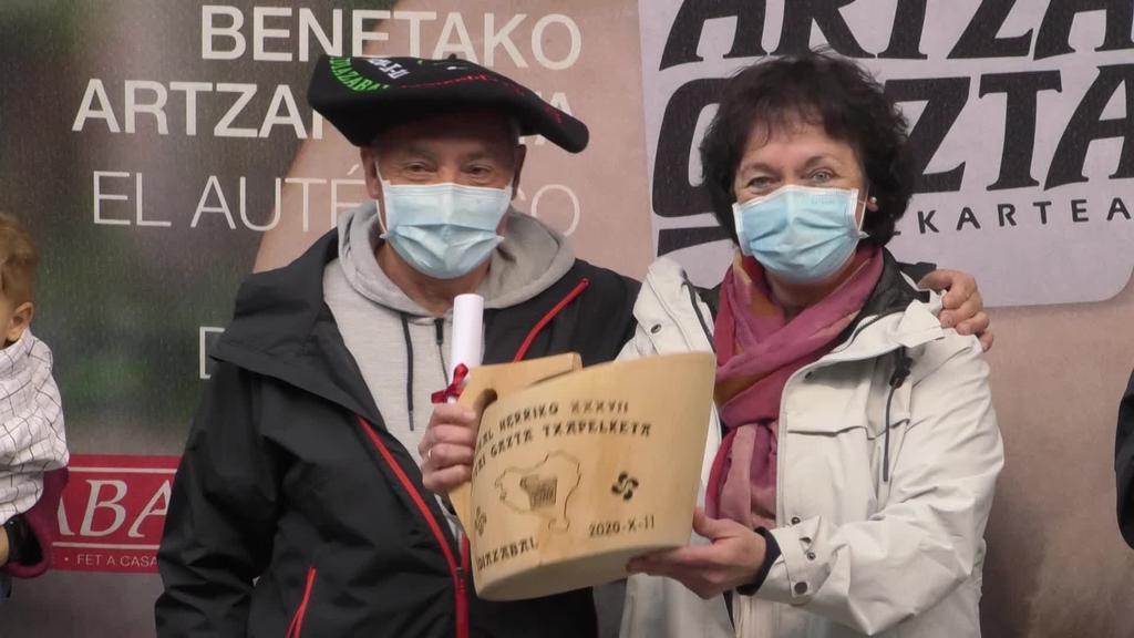 Euskal Herriko Artzai Gazta txapelketako garailea La Lezeko gaztandegia izan da