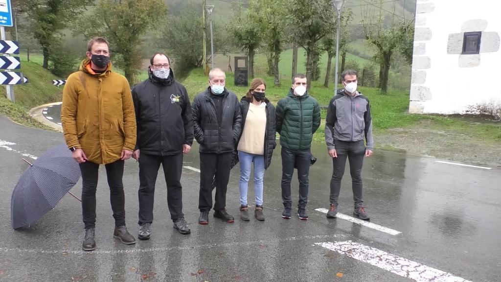 Ordiziako Mendi Maratoi erdia aurkeztu du antolakuntza  taldeak gaur Larraitzen
