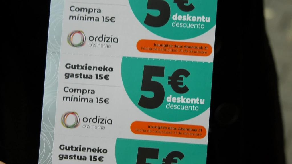 Bigarren aldiz erosketa bonoak banatzeko erabakia hartu du Ordiziako udalak herriko ekonomia suspertzeko