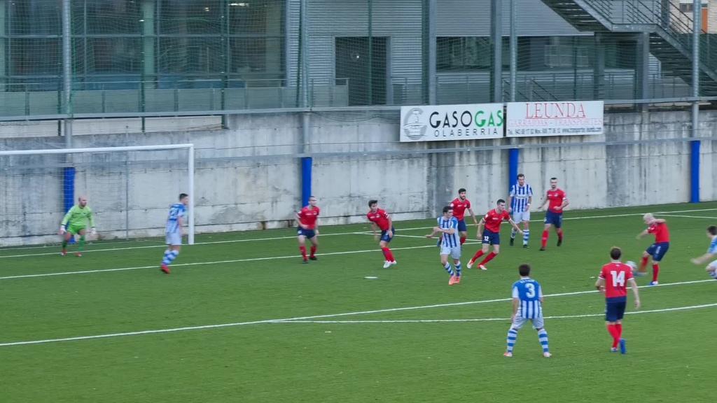Beasain K.E. Aurrera talde Ondarrutarrarekin 0-0 berdindu zuen etxean pasa den larunbatean