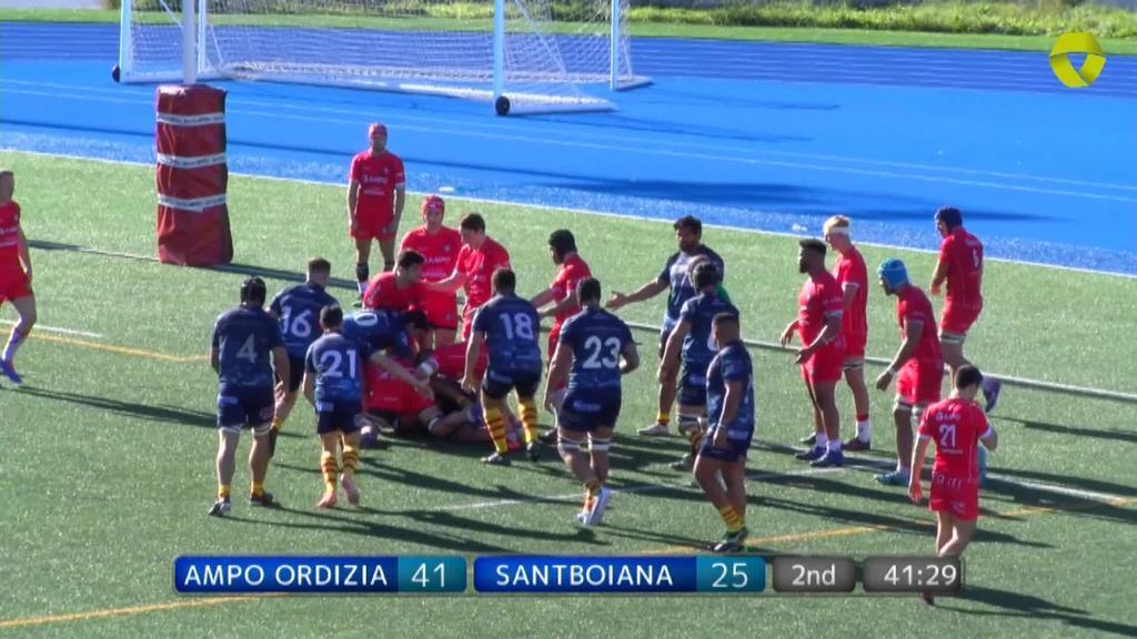 Ampo Ordizia vs UE Santboiana